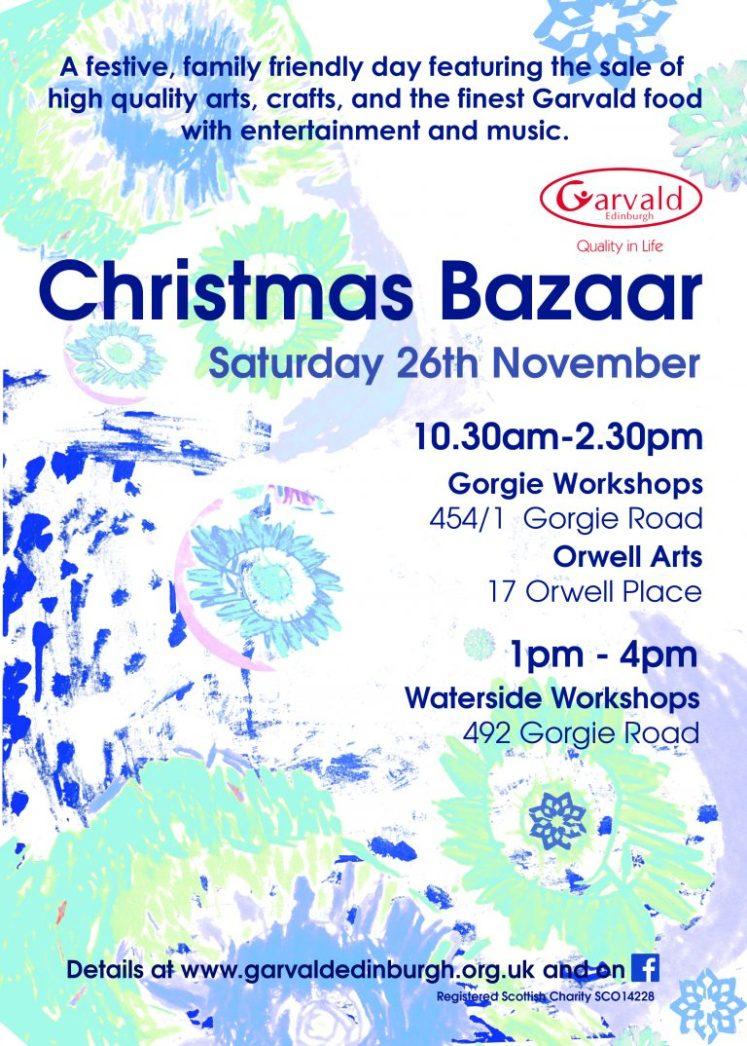 Garvald Christmas Bazaar poster